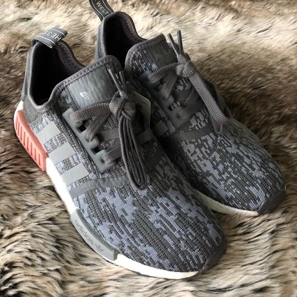 921dd07b3 Adidas NMD R1 Women s Shoes Grey Pink